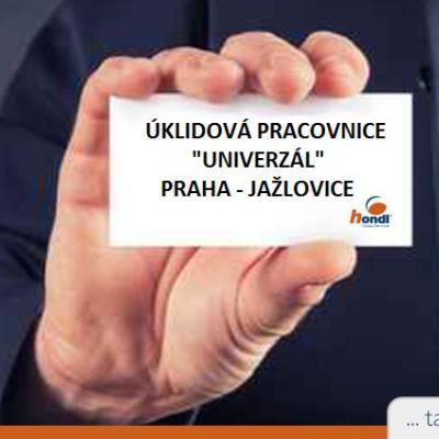 Úklidová pracovnice - UNIVERZÁL