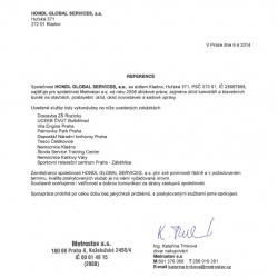 Vyjádření klienta - Metrostav a.s.
